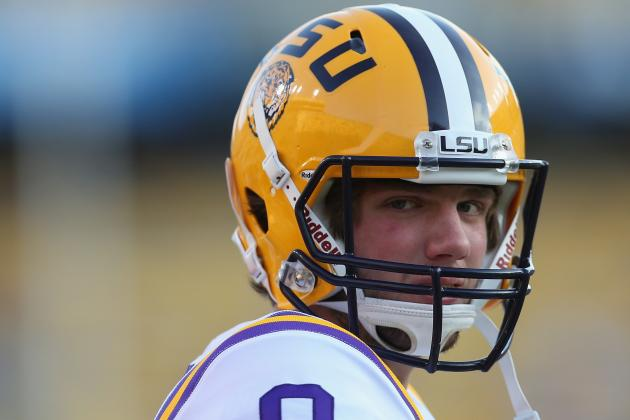 Alabama vs. LSU: Face It, This Is Really All About Zach Mettenberger