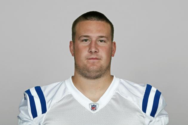 Colts Guard Joe Reitz to Make His First Start of Season Against Dolphins