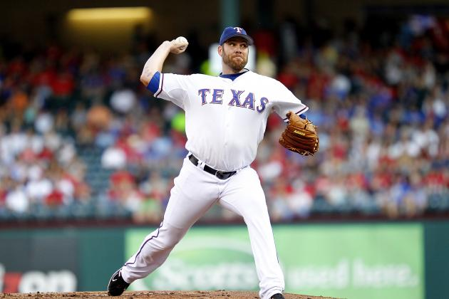 Colby Lewis Aiming to Return from Elbow Surgery Before All-Star Break