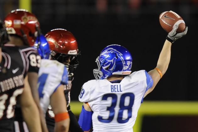 BSU's Bell Is Relentless and Reserved