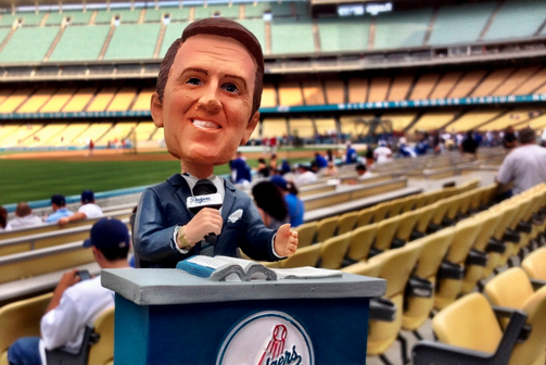 The Dodgers Are Going to Have a Lot of Bobblehead Days Next Year