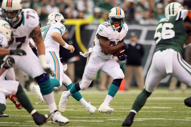 Miami Dolphins' Running Game Will Be Revitalized vs. Colts