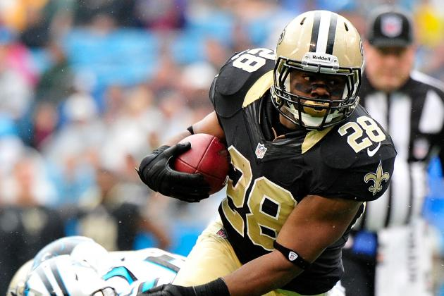 Mark Ingram: Sproles' Injury Makes Saints RB Worthy of Fantasy Pickup