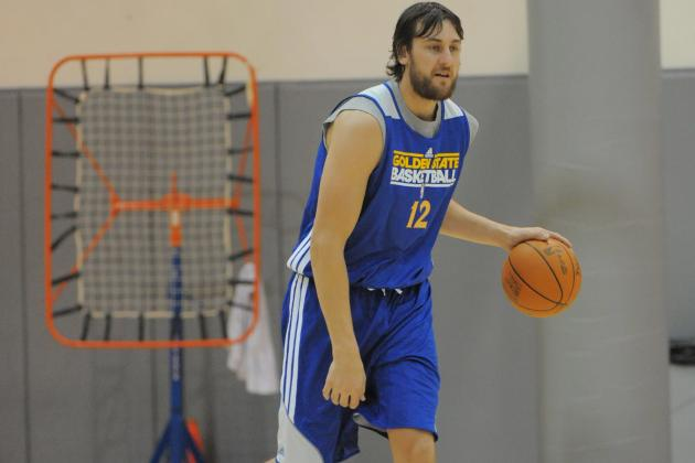 Andrew Bogut Gives Warriors Look of a Winner