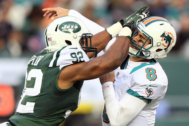 Jets LB Marcus Dowtin Fined for QB Hit Against Dolphins