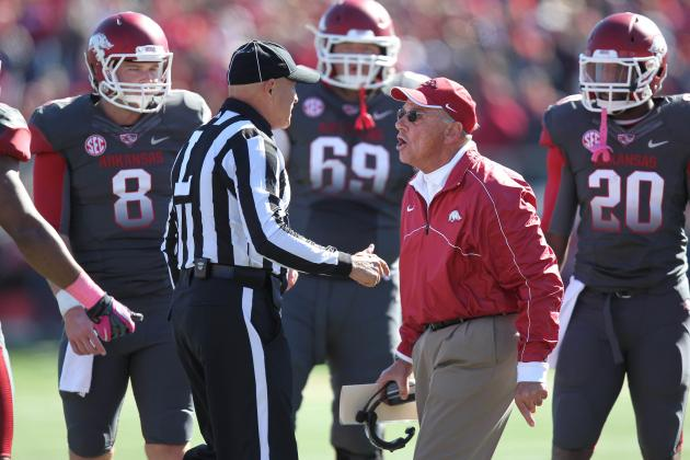 Are the Razorbacks Ditching Their Equipment?