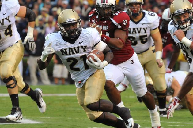 Navy Slotbacks Putting Up Some Impressive Numbers