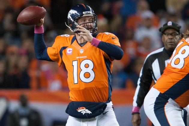 Peyton Manning Can't Be Stopped, but Possibly Contained