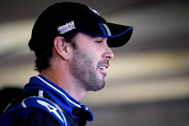 Jimmie Johnson Wins Pole for Sunday's Race