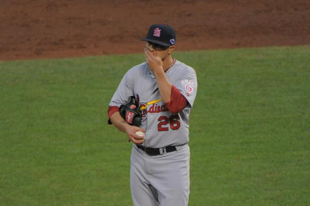 Cardinals Make Qualifying Offer to Kyle Lohse
