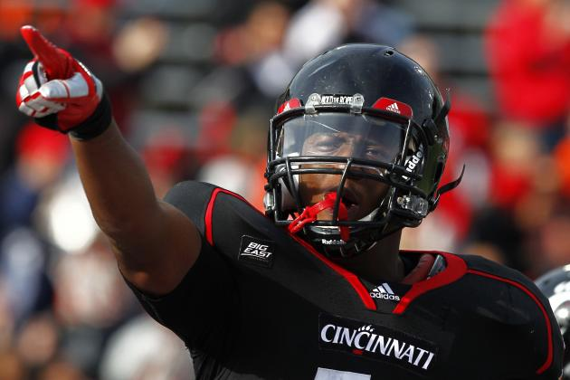Cincinnati Bearcats Football: Walter Stewart a Leader Both on the Field and off