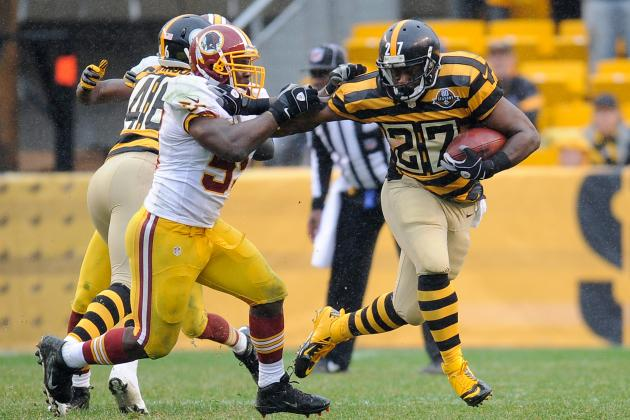 Jonathan Dwyer: 4 Fantasy Replacements for Injured Steelers RB