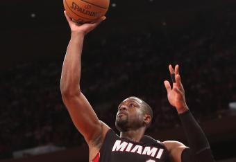 Just another amazing shot by D-Wade.