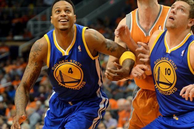 Brandon Rush Leaves Game After Injuring His Knee