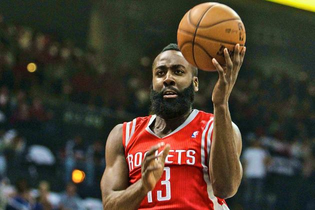 James Harden: Rockets' Star Proves Huge Debut Was No Fluke in Win vs. Hawks