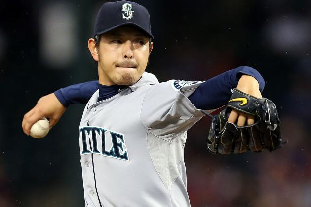 Mariners Extend the Contract of Hisashi Iwakuma