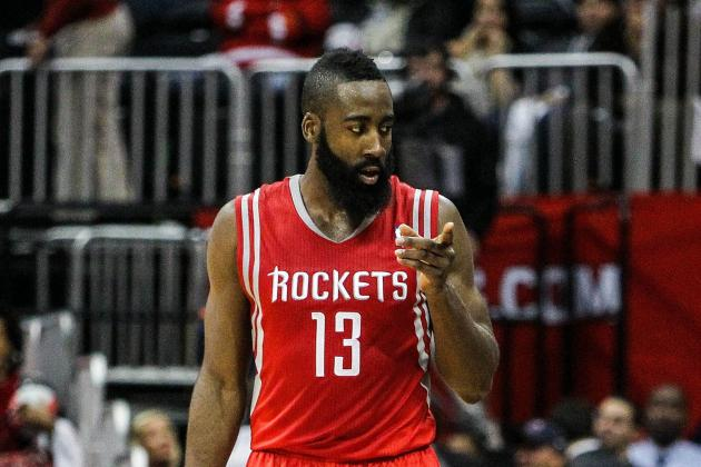 NBA Basketball 2012: Houston Rockets' James Harden Is an Early MVP Candidate