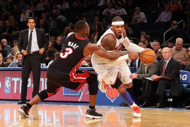 Knicks Trounce Heat: 20-Point Victory Has Shadings of '06 New Orleans Saints