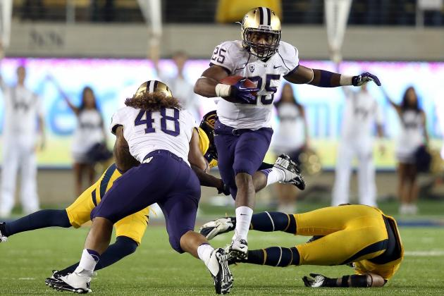 Washington Defeats Cal 21-13 in Pac-12 Clash