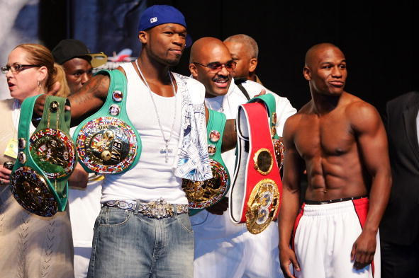 Floyd Mayweather and 50 Cent Beef on Twitter: Is It Real?