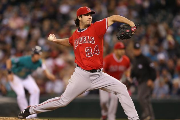 Los Angeles Angels of Anaheim: Do Not Be Afraid of Bringing Back Dan Haren
