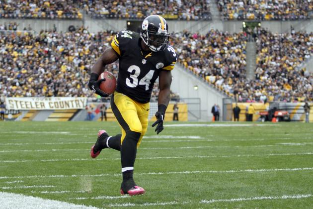 Rashard Mendenhall: Steelers RB a Prime Example of Volatility at Position
