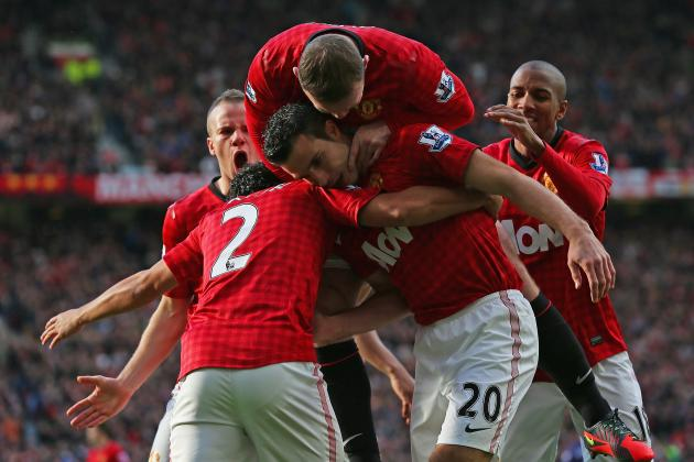 Manchester United vs. Arsenal: RvP Scores in Comfortable Win over Former Club