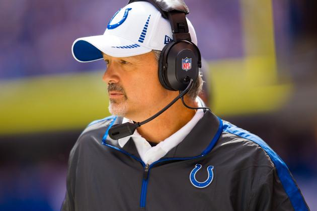 Colts Coach Chuck Pagano Could Attend Colts vs. Dolphins Game