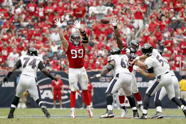 Houston Texans Hold Number 1 Spot in This Week's NFL STOP Factor Rankings