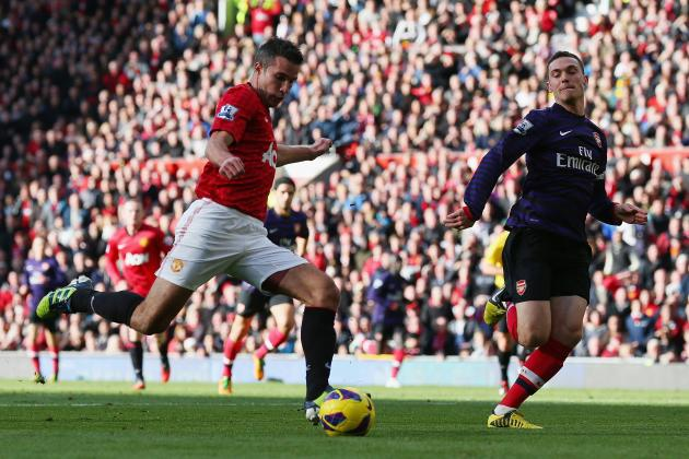 Uninspired Arsenal Fall to League-Leading Manchester United