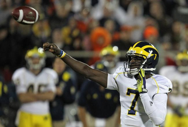 Devin Gardner has managed the Michigan offense quite well in Denard Robinson's absence.