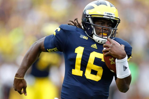 Where and How Does Michigan QB Denard Robinson Translate to the NFL?