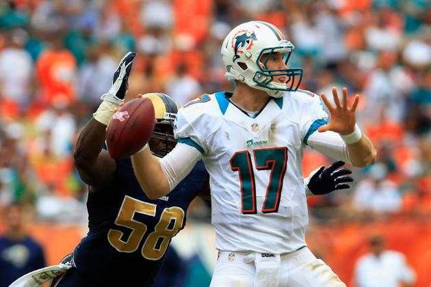 Ryan Tannehill: Projecting Week 9 Fantasy Numbers for Dolphins QB