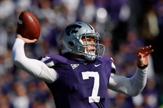 Oklahoma State vs Kansas State: Will This Be When Collin Klein Locks Up Heisman?