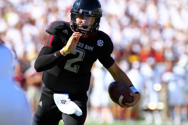 Johnny Manziel: Future Is Bright for Aggies with Dynamic Dual-Threat QB