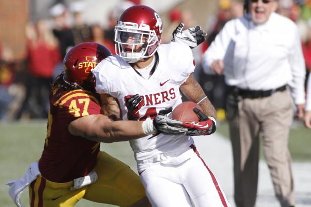 FOOTBALL: No. 14 Oklahoma 35, Iowa State 20 (Final)
