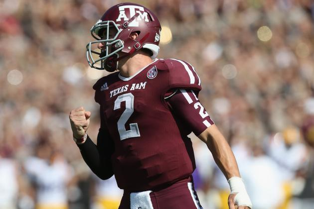 Manziel Ignites Texas A's Romp Over Miss. St.