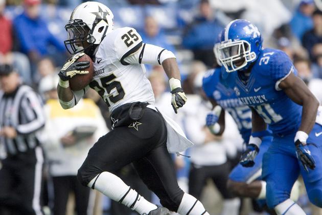 Vanderbilt Dominates Kentucky in All Phases 40-0