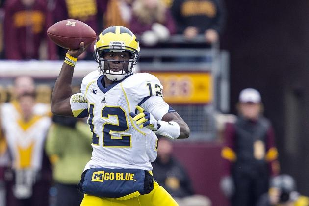 Michigan vs. Minnesota: Where Was Devin Gardner LAST Week in Loss to Nebraska?