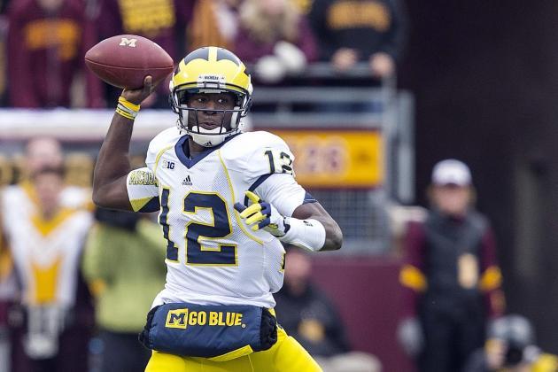 Michigan vs. Minnesota: Where Was Devin Gardner LAST Week in Loss to Nebraska?
