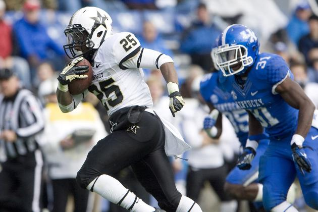 Kentucky vs. Vanderbilt: Wildcats Humiliated at Home by the Commodores 40-0