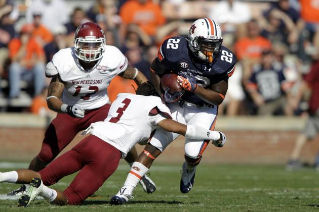 It's a Final: Auburn Finishes Strong, Smashes New Mexico State 42-7