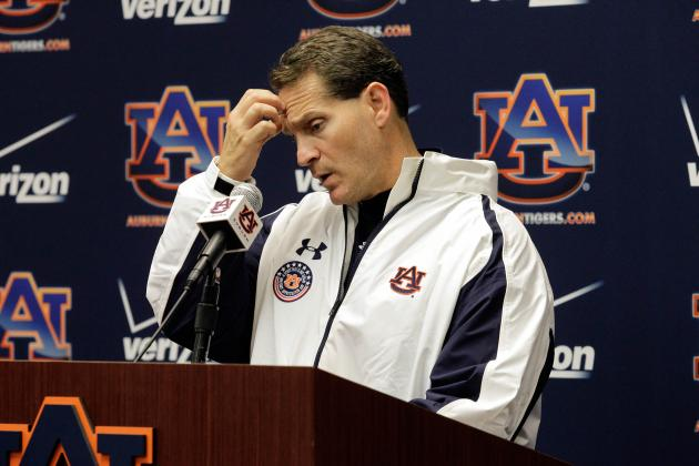 New Mexico State vs. Auburn: Blowout Win Does Not Cool Gene Chizik's Hot Seat