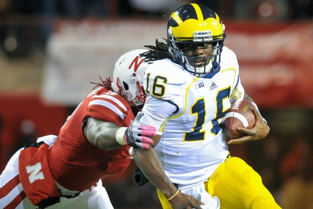 Brady Hoke 'Very Optimistic Denard Robinson Can Return Next Week