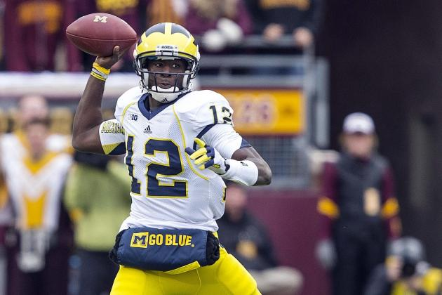Devin Gardner: Former WR Shows Michigan Can Survive Without Denard Robinson