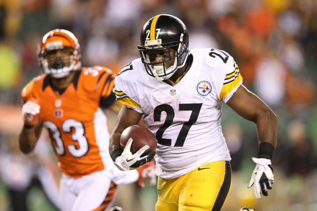 Jonathan Dwyer: Projecting Long-Term Fantasy Value for Steelers RB