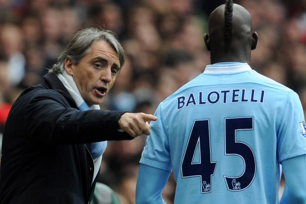 Roberto Mancini Rues Slack Manchester City Finishing