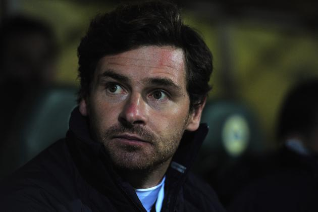 Tottenham Boss Andre Villas-Boas Rues Worst Display of the Season