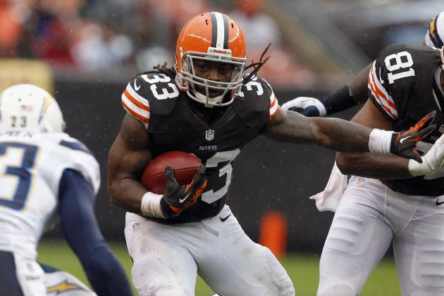 Fantasy Football Projections: Trent Richardson and RBs Set to Rumble