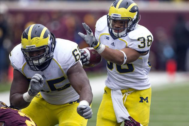 Michigan Football: Hoke a Winner with Gardner, Rawls in Lineup